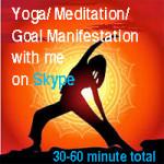 Yoga-medition skype online