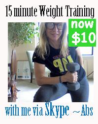 Weight Training via Skype
