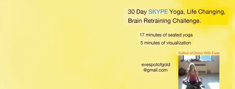 30 Day Skype Yoga Challenge * SIGN UP NOW