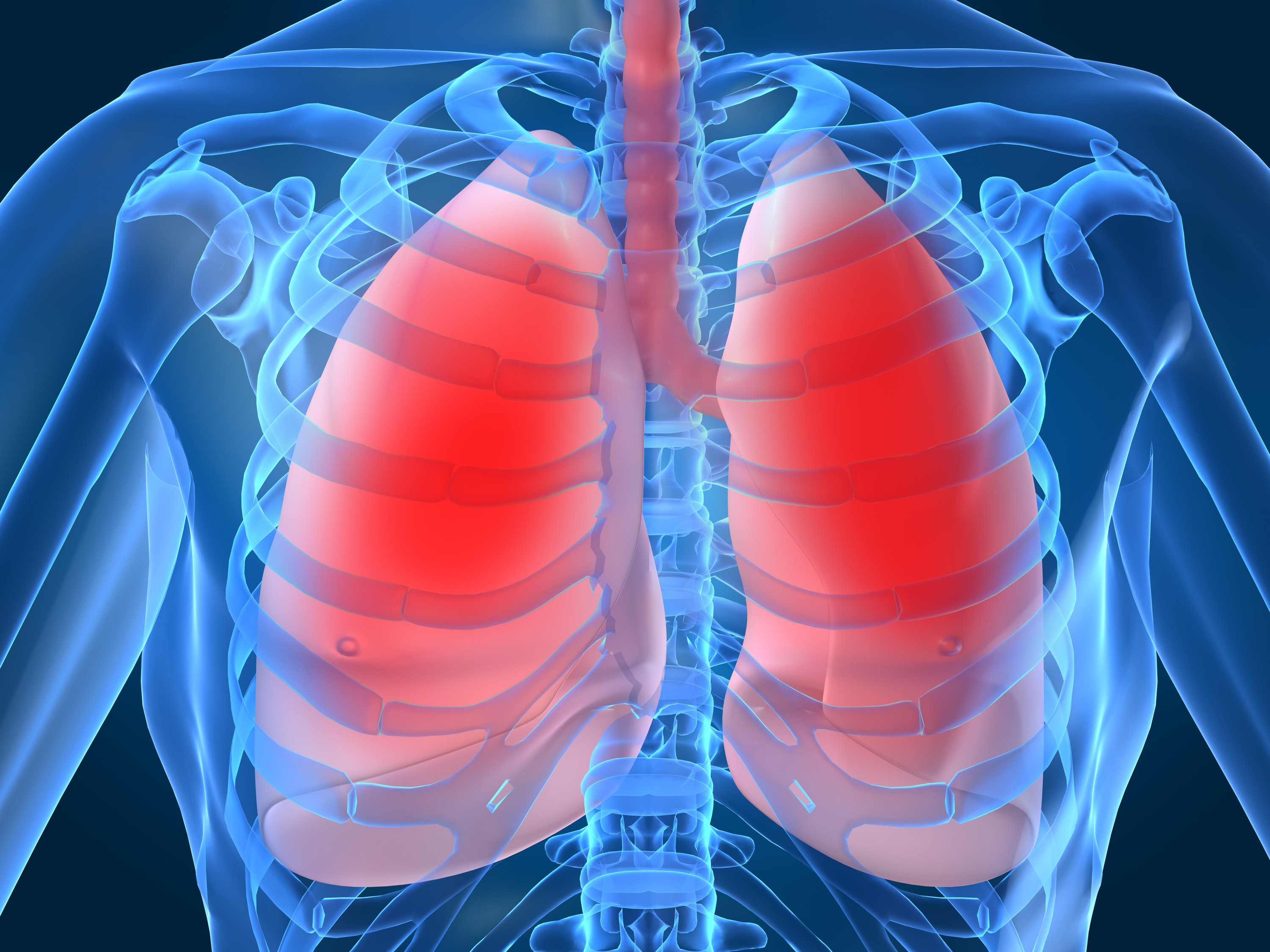 How To Heal The Lungs By Promoting Breathing And Rib Cage